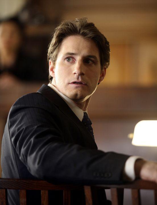 Matt (Sam Jaeger) ist entsetzt über das Verhalten seines Freundes Eli, der gegen einen der größten Mandanten der Kanzlei vor Gericht geht ... - Bildquelle: Disney - ABC International Television