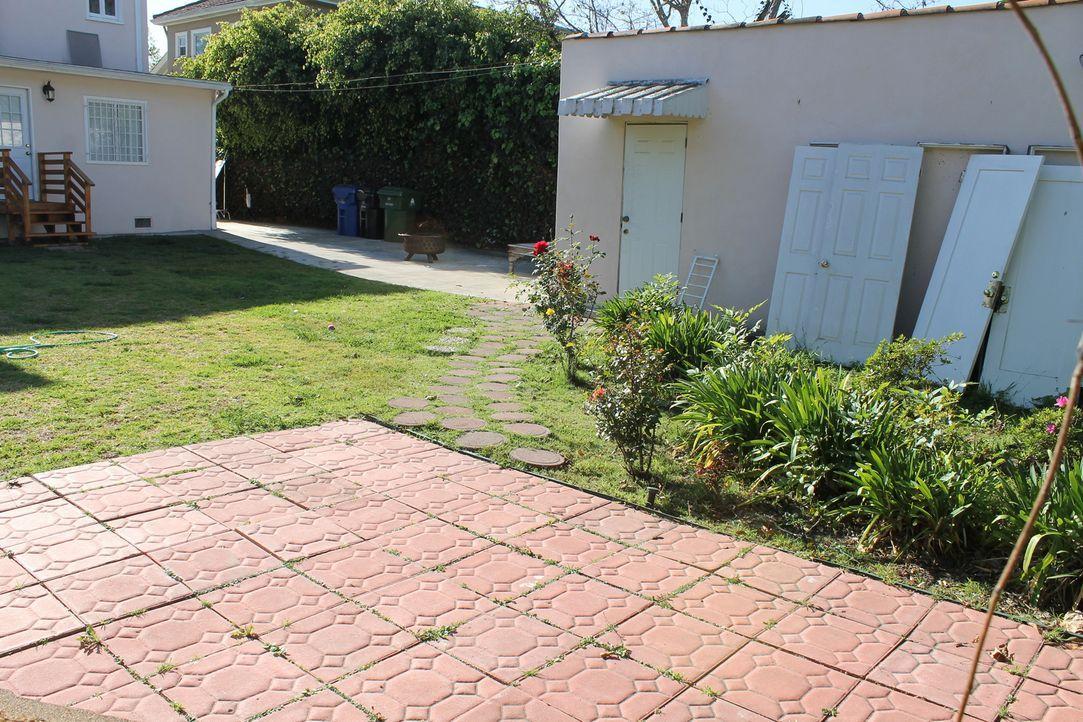 Während Maggie und Michael im Haus bereits eine Menge Renovierungen vorgenommen haben, mussten sie den Garten bisher immer außer Acht lassen, doch d... - Bildquelle: 2014, DIY Network/Scripps Networks, LLC. All Rights Reserved.