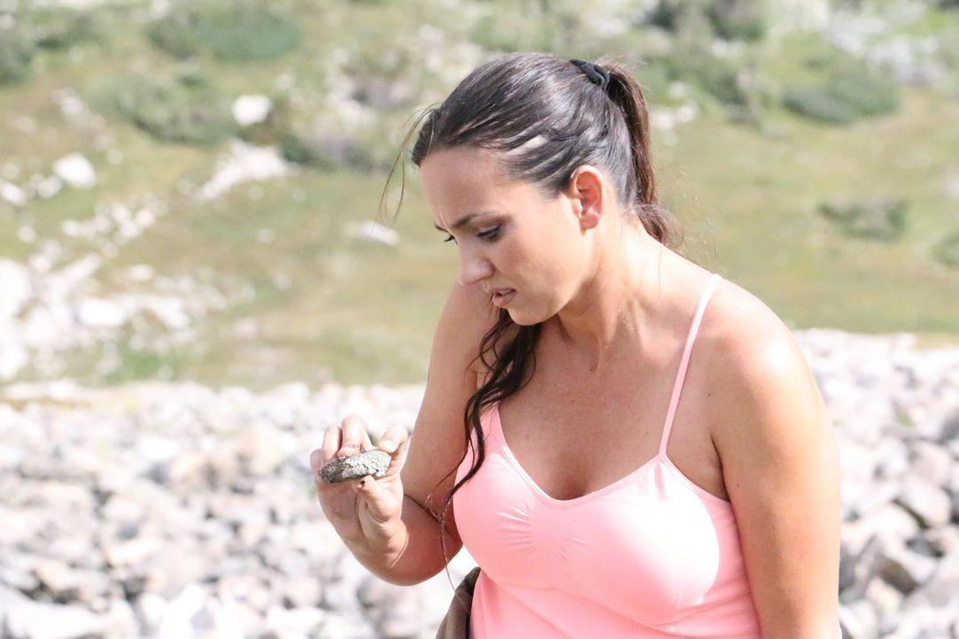 Die Suche nach wertvollen Edelsteinen treibt Amanda in die Hochlagen des Mount Whites. Wird sie dort fündig werden? - Bildquelle: High Noon Entertainment, 2015