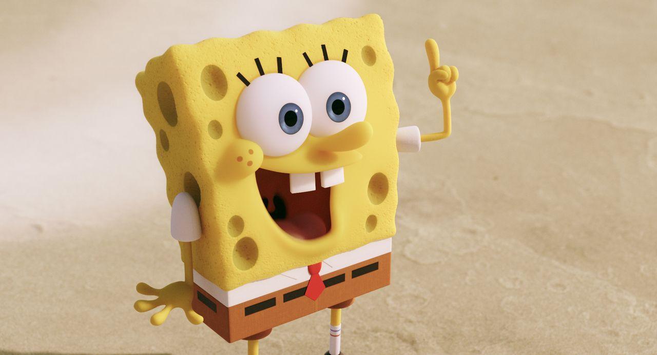 """Spongebob liebt seinen Job in der """"Krossen Krabbe"""" und alle Bikini Bottom Unterwasserbewohner lieben seine Burger. Plötzlich wird das Geheimrezept e... - Bildquelle: (2016) Paramount Pictures and Viacom International Inc. All Rights Reserved. SPONGEBOB SQUAREPANTS is the trademark of Viacom International Inc."""
