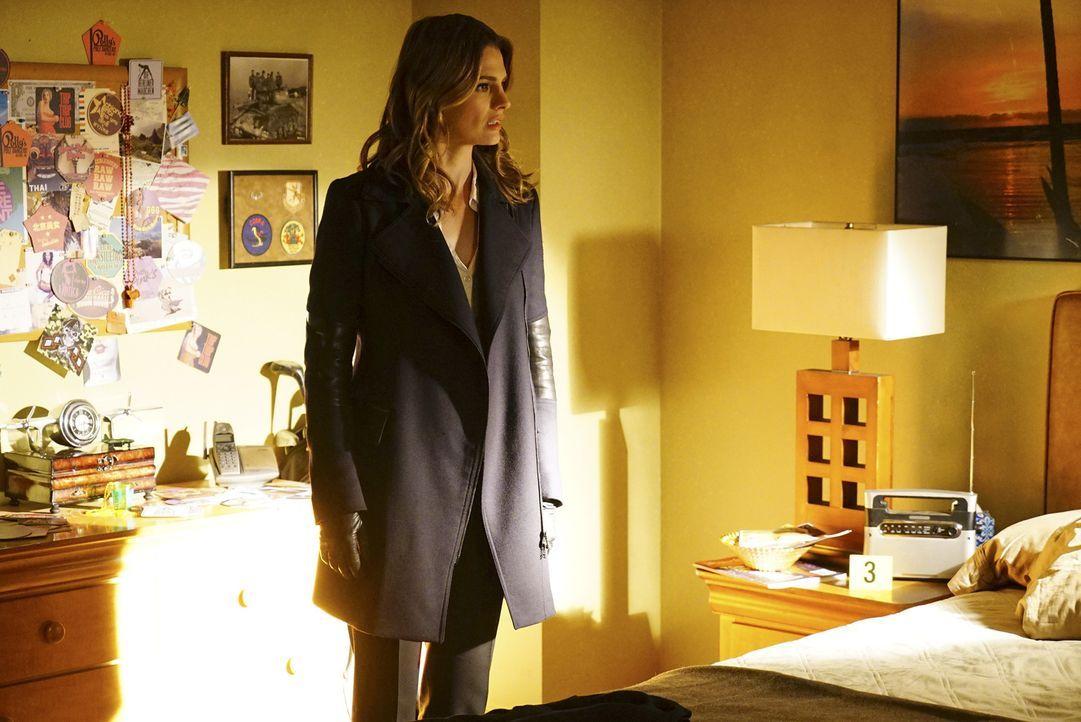 Nach und nach wird Kate (Stana Katic) klar, dass sich ihr Mann doch in Recht und bald in ernsthafter Gefahr befindet ... - Bildquelle: Richard Cartwright ABC Studios