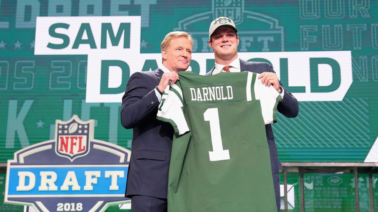 8. Sam Darnold (New York Jets) - Bildquelle: 2018 Getty Images