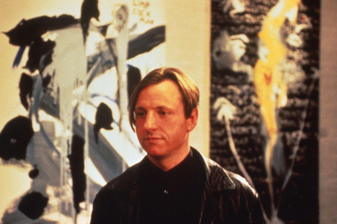 Wird sie kommen? Lehrer und Hobby-Maler Joe (Eric Schaeffer) hat seine schöne Nachbarin Jane zu seiner Vernissage eingeladen ... - Bildquelle: 1996 TriStar Pictures, Inc. All Rights Reserved.