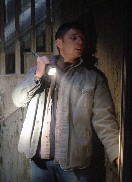 """Sam und Dean (Jensen Ackles) sind die Stars einer düsteren Reality-Show namens """"Ghostfacers"""", welche von der Jagd nach dem Paranormalen berichtet ... - Bildquelle: Warner Bros. Television"""
