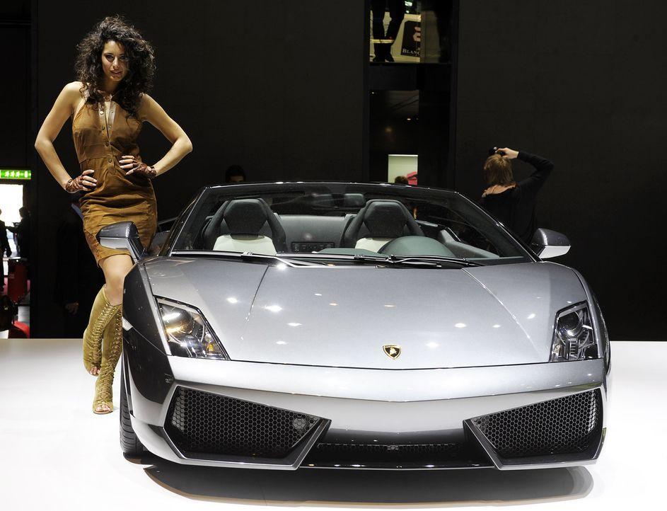 automesse-genf-Lamborghini-100302-AFP - Bildquelle: AFP