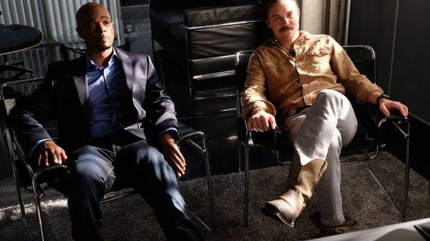 Als Riggs (Clayne Crawford, r.) und Murtaugh (Damon Wayans, l.) einen Mord un...