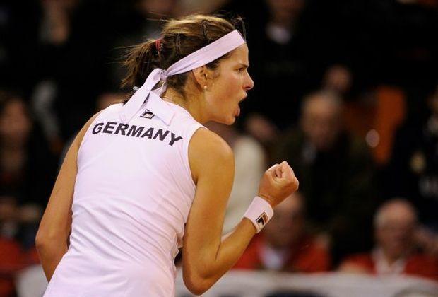 Julia Görges führt das deutsche Fed-Cup-Team an