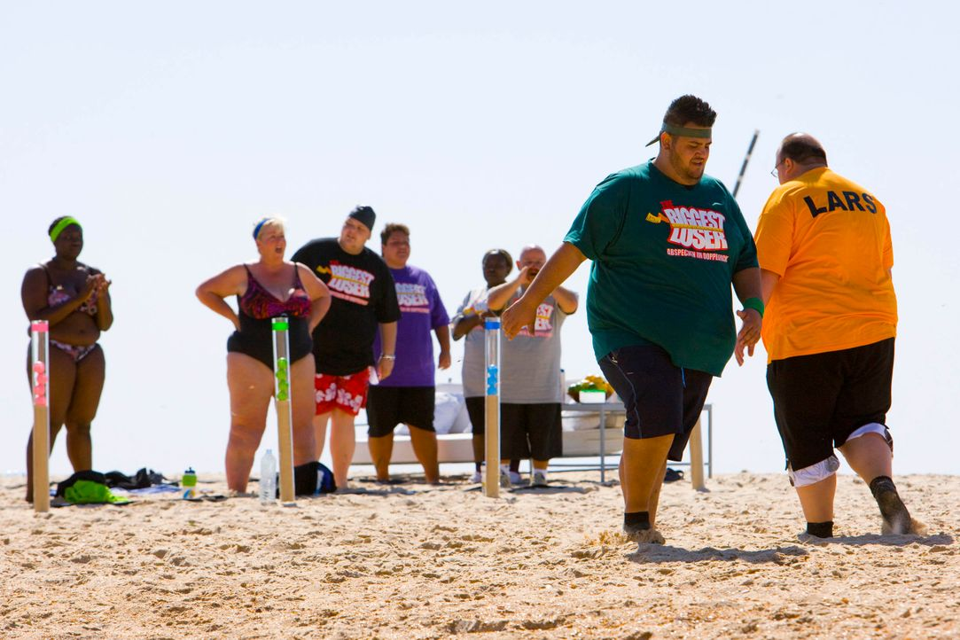 The-Biggest-Loser-Mini-Triathlon-Folge1-0003 - Bildquelle: SAT.1/Enrique Cano