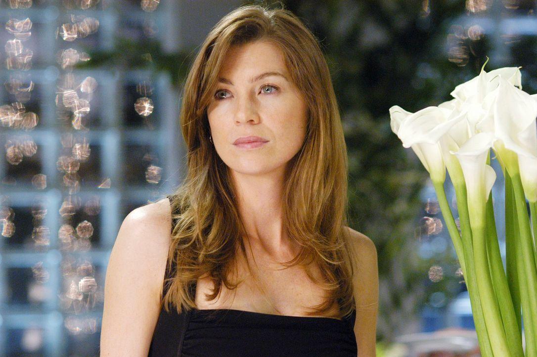 Ist überrascht, als Derek ihr seine Liebe gesteht: Meredith (Ellen Pompeo) ... - Bildquelle: Touchstone Television