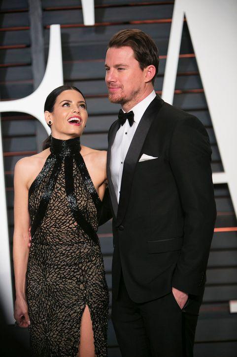 Oscars-Vanity-Fair-Party-Jenna-Dewan-Channing-Tatum-150222-AFP - Bildquelle: AFP