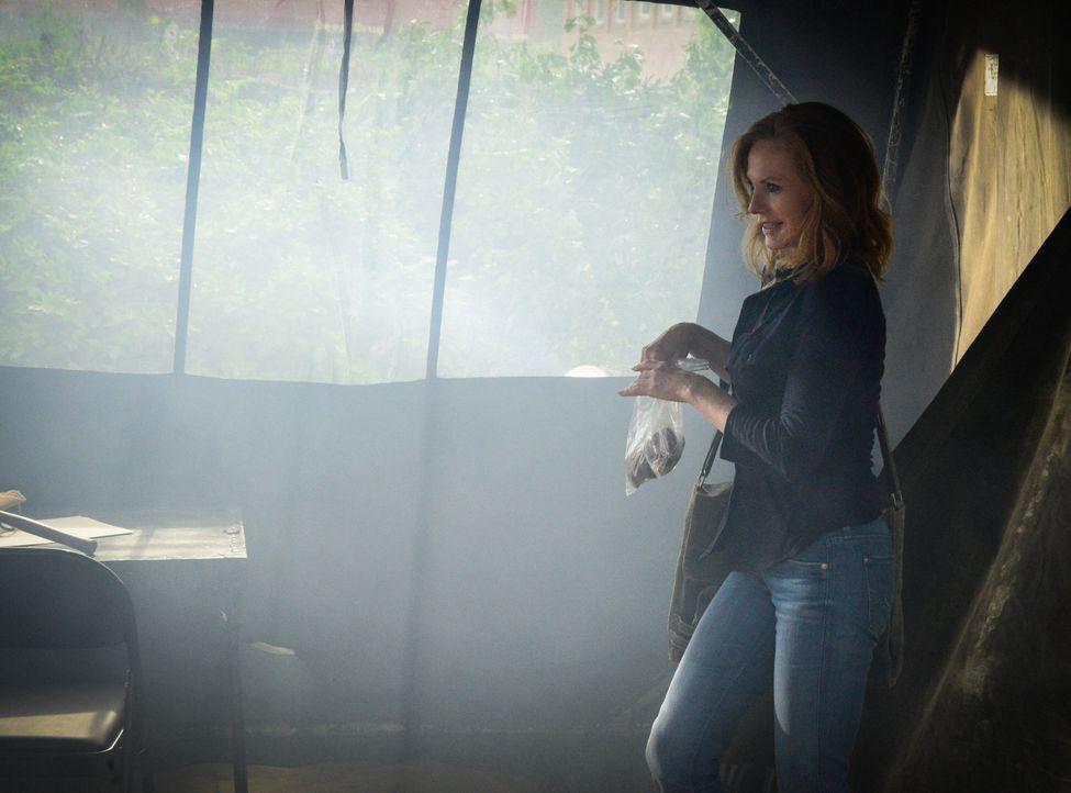 Wie weit wird Christine (Marg Helgenberger) gehen, um in Chester's Mill die Kontrolle zu behalten? - Bildquelle: Brownie Harris 2015 CBS Studios Inc.