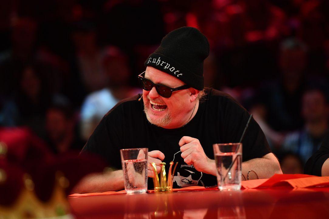 Comedian Markus Krebs kommt aus dem Lachen nicht mehr raus. - Bildquelle: Willi Weber SAT.1