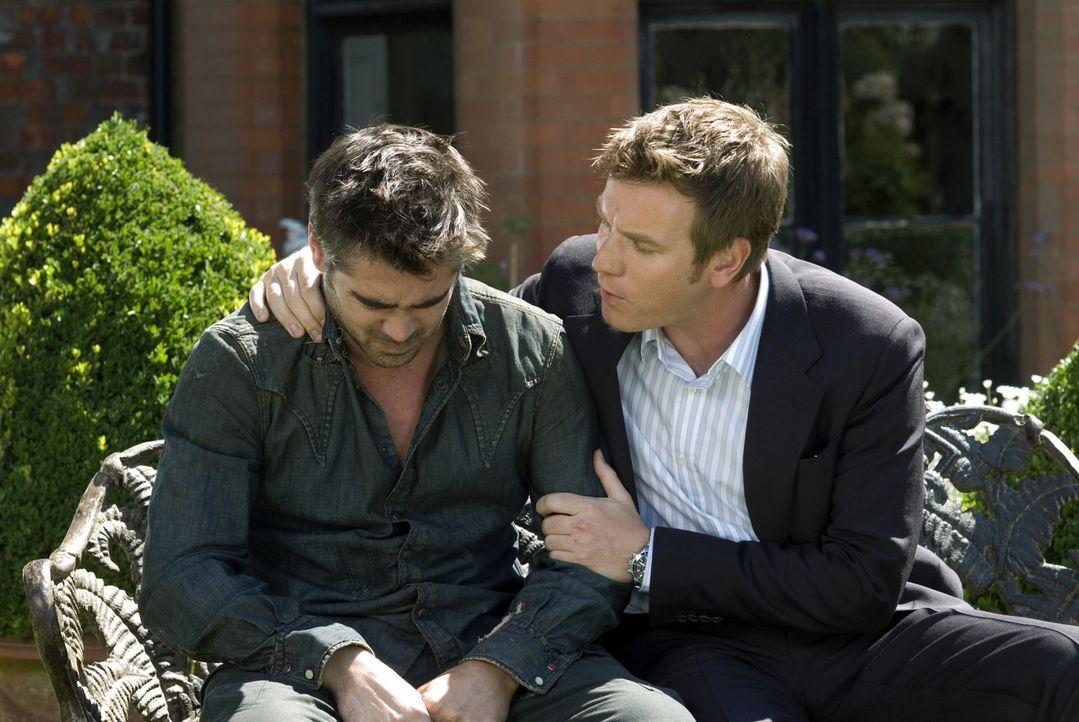 Ian (Ewan McGregor, r.) versucht, seinen Bruder Terry (Colin Farrell, l.) wo es geht unter die Arme zu greifen. Doch diesmal ist er wirklich einen S... - Bildquelle: Constantin Film