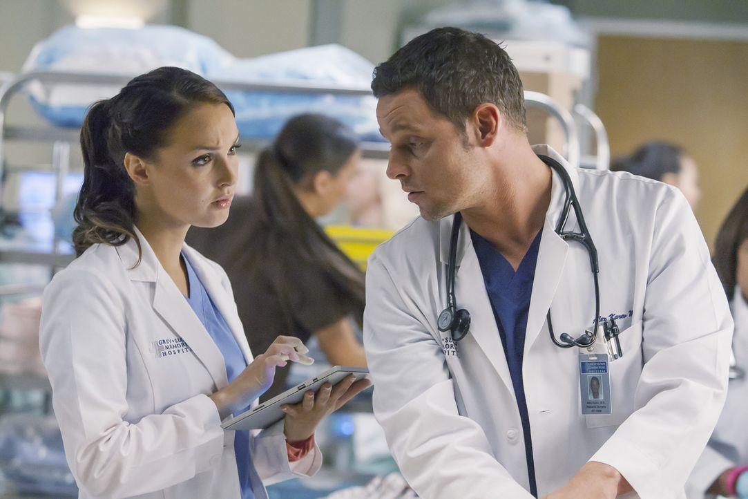 Jo (Camilla Luddington, l.) und Alex (Justin Chambers, r.) sind nicht nur privat ein perfektes Team. Auch im Job scheint es zwischen den beiden gut... - Bildquelle: ABC Studios