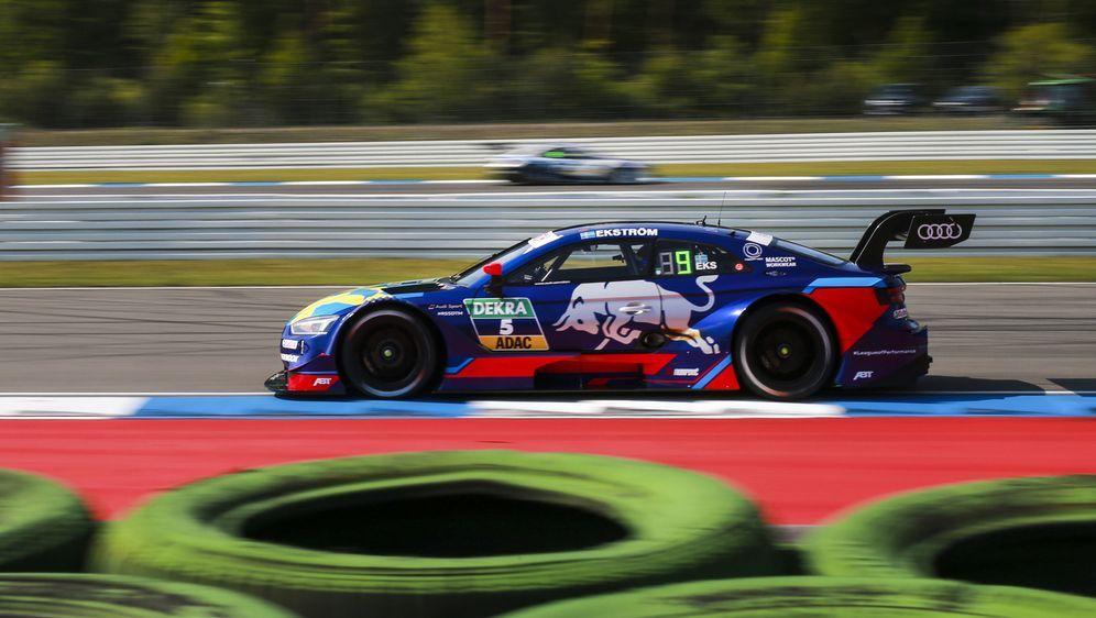 Mit Mattias Ekström verschwand auch Red Bull aus der DTM, Rückkehr aber mögl... - Bildquelle: Audi