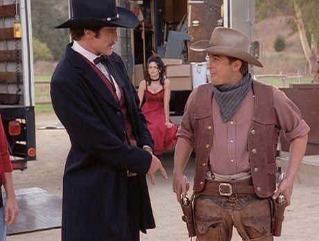 Diagnose: Mord - Steve (Barry Van Dyke, l.) und Jesse (Charlie Schlatter, r.)...