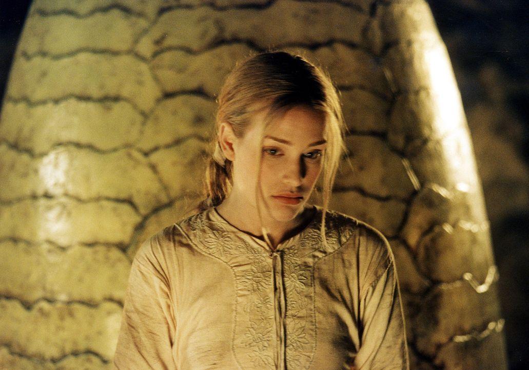Zur Überraschung aller ist Prinzessin Lunna (Piper Perabo) bereit, den unausgeschlüpften Drachen mit allen Mitteln zu verteidigen ... - Bildquelle: ApolloMedia