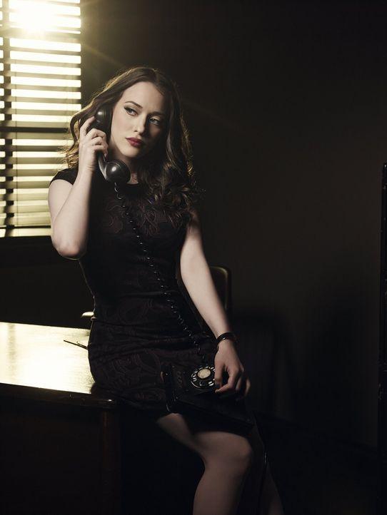 (2. Staffel) - 2 Broke Girls: Max Black (Kat Dennings) ... - Bildquelle: Warner Bros. Television