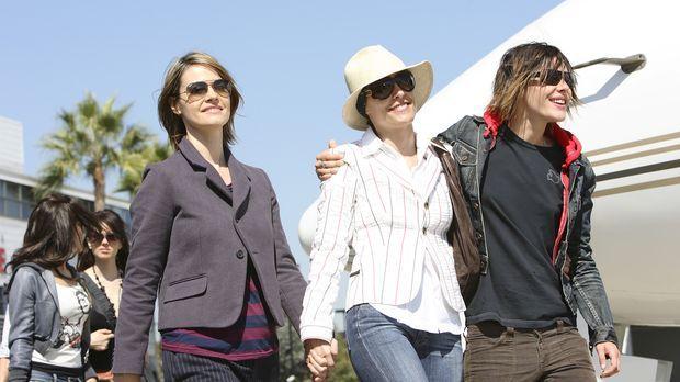 Genießen die gemeinsame Zeit: Alice (Leisha Hailey, l.) Dana (Erin Daniels, M...