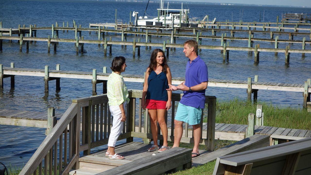 Derek und Mandy wünschen sich für ihre vierköpfige Familie ein Ferienhaus an... - Bildquelle: 2014, HGTV/Scripps Networks, LLC. All Rights Reserved.