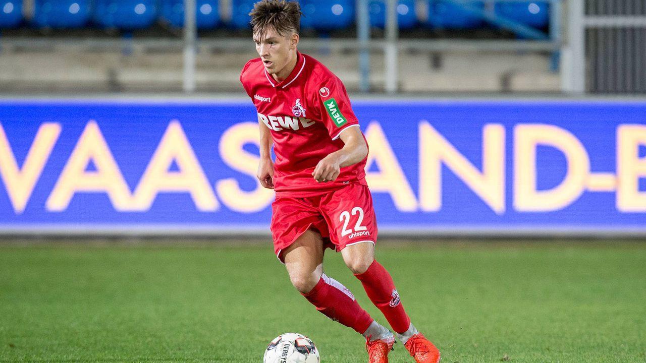 Noah Katterbach (1. FC Köln) - Bildquelle: imago/Deutzmann