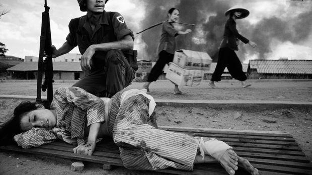 Der walisische Fotograf Philip Jones Griffiths besuchte 1966 Vietnam: Er erfa...