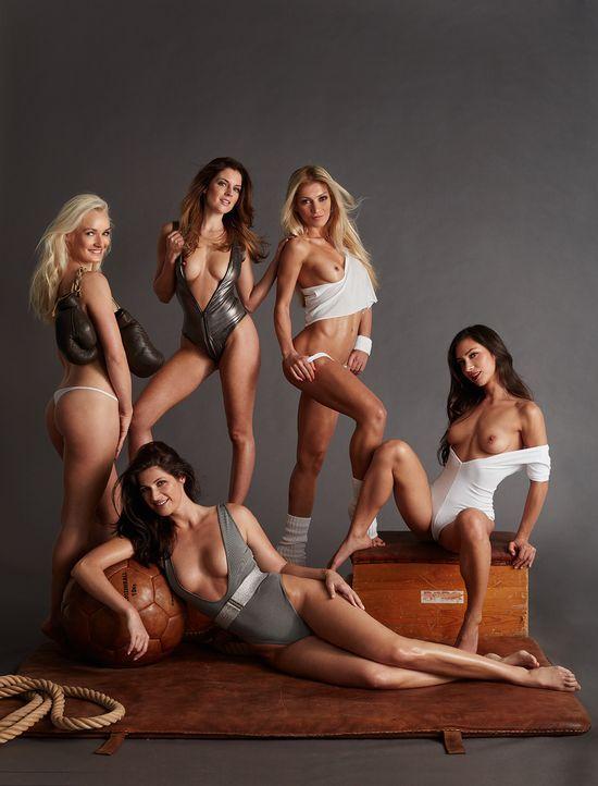Playboy April 2016: Die fünf Fitnessgöttinnen - Bildquelle: Sacha Höchstetter für Playboy April 2016
