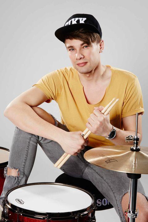 Die-Band-Drummer-Yuri-03-ProSieben-Richard-Huebner - Bildquelle: ProSieben/Richard Hübner