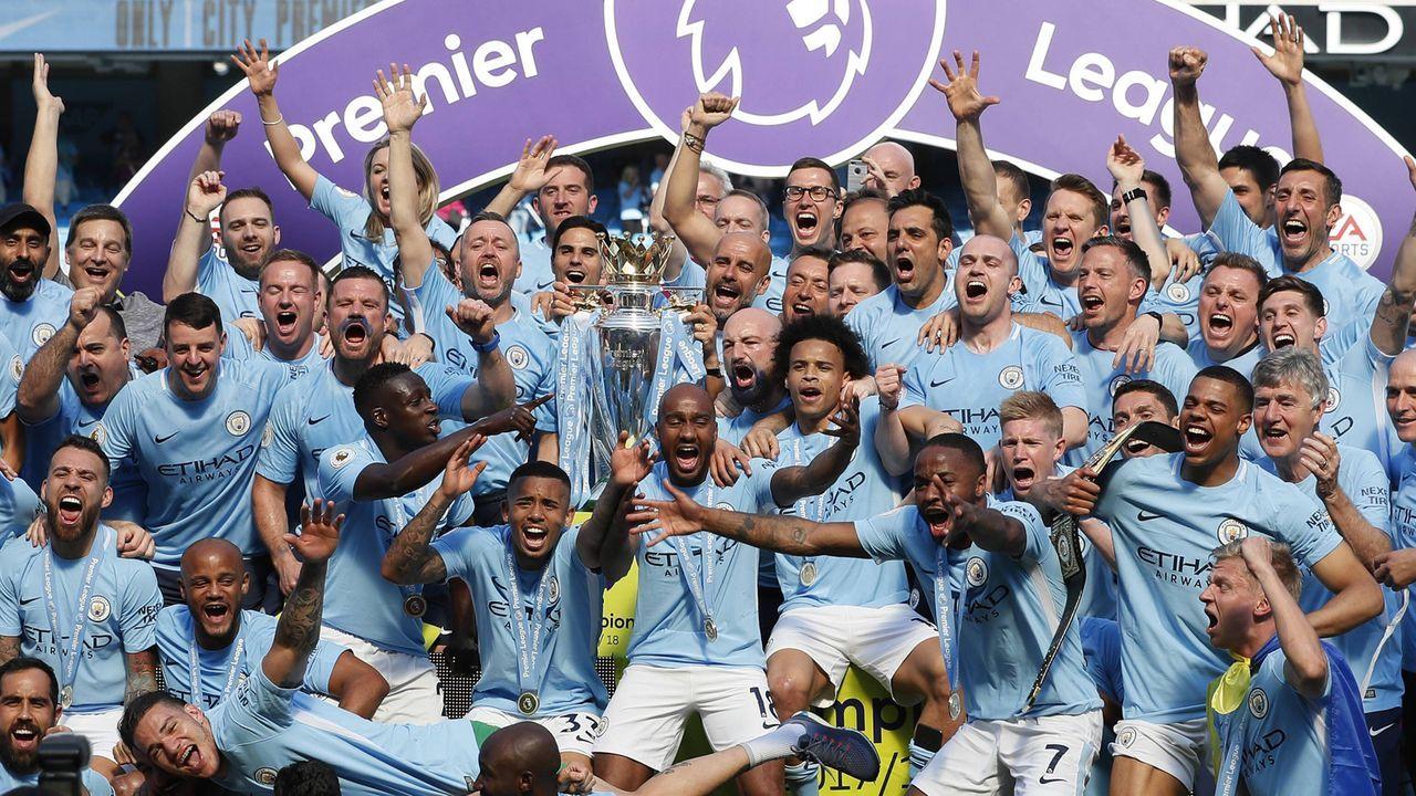 Manchester City: Der Titelverteidiger  - Bildquelle: imago/Sportimage