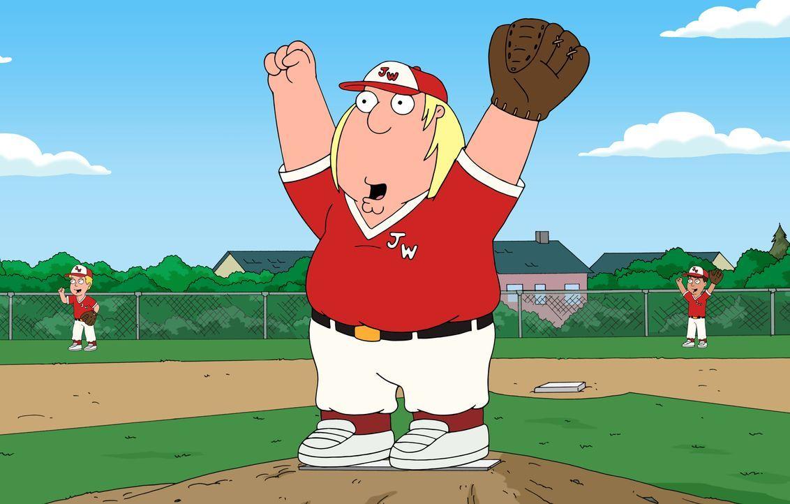 Das jahrelange Armtraining durchs Onanieren zahlt sich für Chris beim Baseball aus: Er wird zum gefeierten Pitcher des Teams. - Bildquelle: 2016-2017 Fox and its related entities.  All rights reserved.