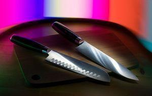 küchenmesser mit scharfer Klinge