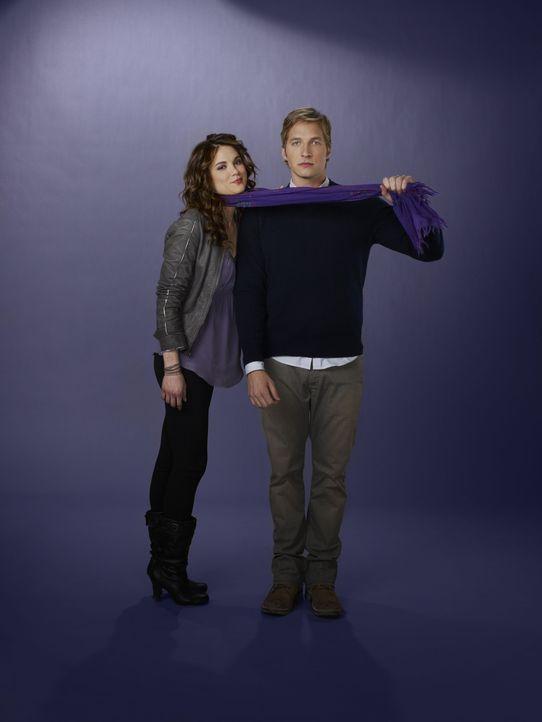 (1. Staffel) - Sind sehr gute Freunde: Ben (Ryan Hansen, r.) und Sara (Danneel Ackles, l.) ... - Bildquelle: Mitchell Haaseth NBC Universal, Inc.