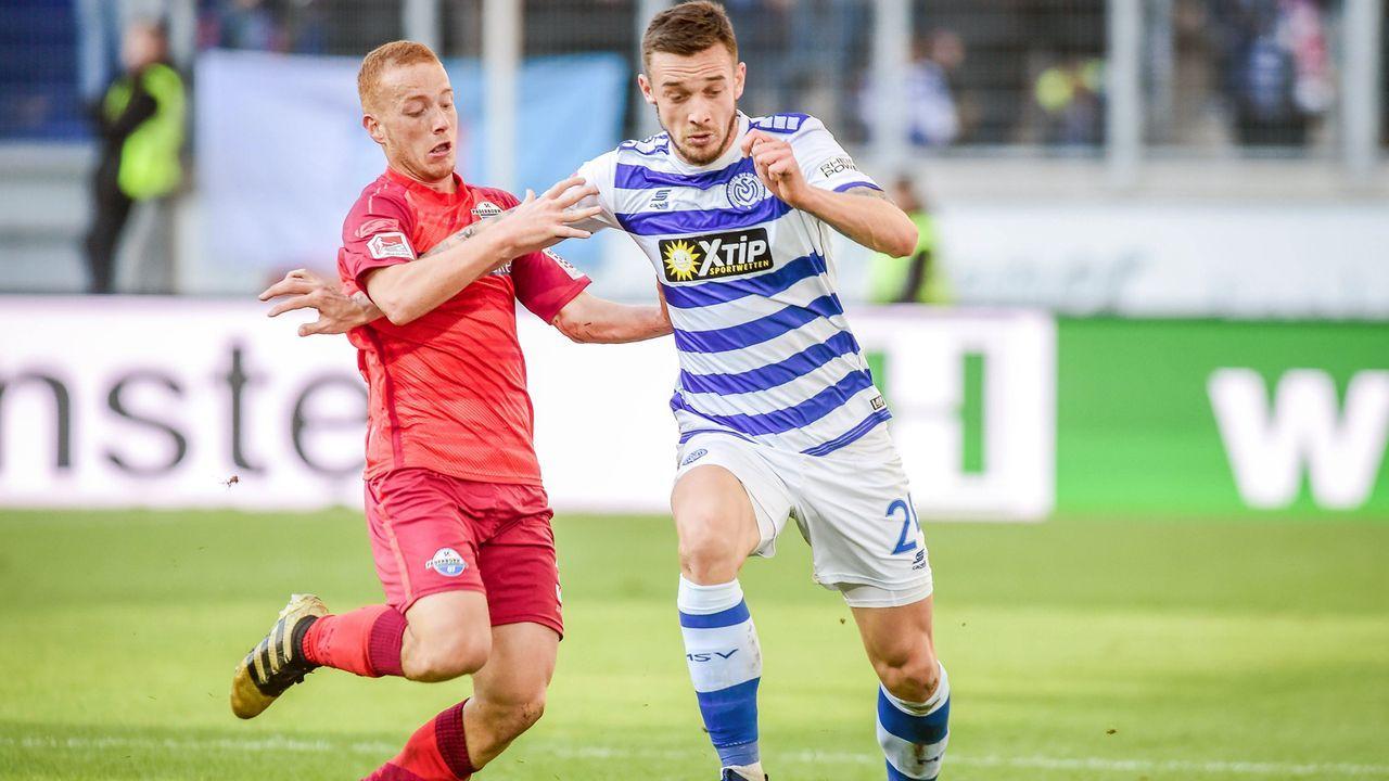 MSV Duisburg - SC Paderborn 1:3 - Bildquelle: imago/DeFodi