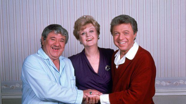 Das Komiker-Duo Murray Gruen (Buddy Hackett, l.) und Mack Howard (Steve Lawre...