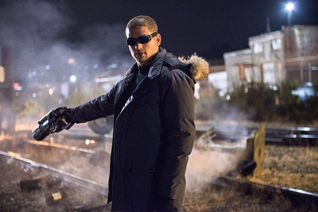Führt nichts Gutes im Schilde: Captain Cold (Wentworth Miller) ... - Bildquelle: Warner Brothers.