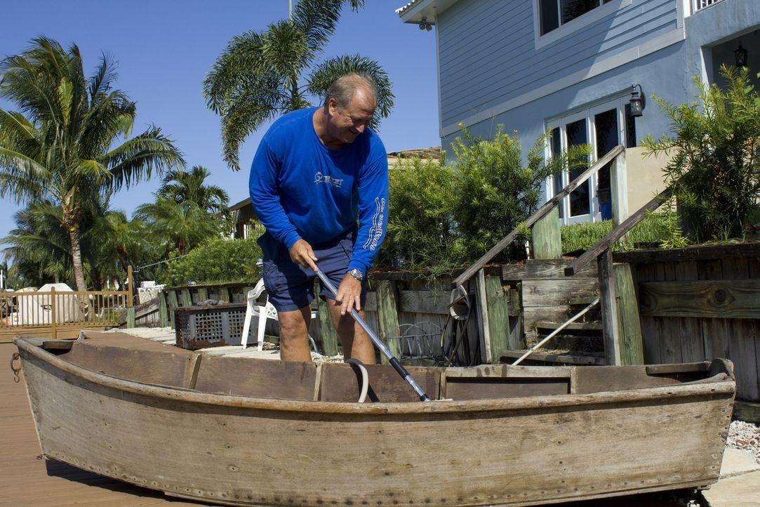 Billy Neeman träumt von einem Rückzugsort nur für sich, ganz im Stile seines Lieblingshobbys, dem Fischen ... - Bildquelle: 2013, DIY Network/Scripps Networks, LLC.  All rights Reserved.