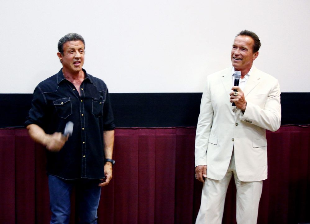 ComicCon-Stallone-Schwarzenegger-130718-09-getty-AFP.jpg 1700 x 1230 - Bildquelle: getty-AFP