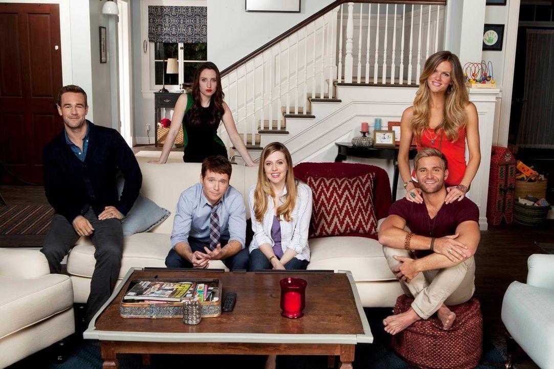 Das sind die Friends - Bildquelle: 2013 CBS Broadcasting, Inc. All Rights Reserved.