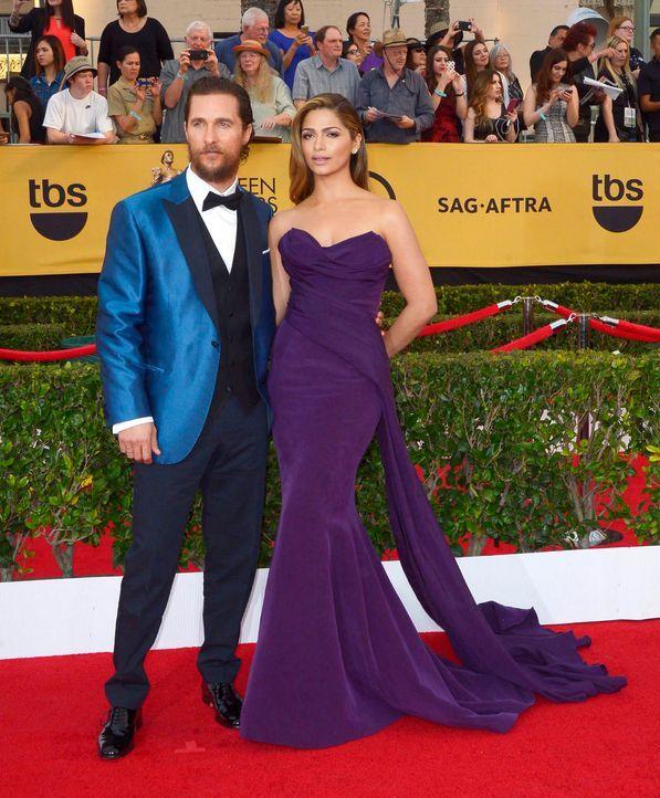 SAG-Awards-Matthew-McConaughey-Camila-Alves-15-01-25-dpa - Bildquelle: dpa