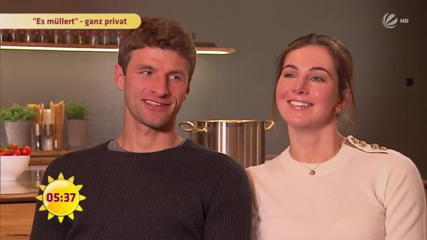 fr hst cksfernsehen video so feiert thomas m ller valentinstag sat 1. Black Bedroom Furniture Sets. Home Design Ideas