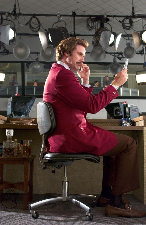 Noch ist der selbstverliebte Anchorman Ron (Will Ferrell) der populärste Nachrichtensprecher von San Diego, aber schon bald macht ihm eine junge Jo... - Bildquelle: Michaels Darren DreamWorks