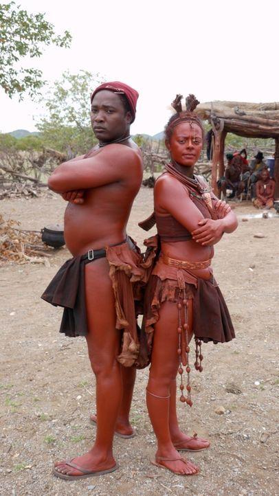 Die Afrikanischen Gasteltern Calista und Jotty. - Bildquelle: kabel eins
