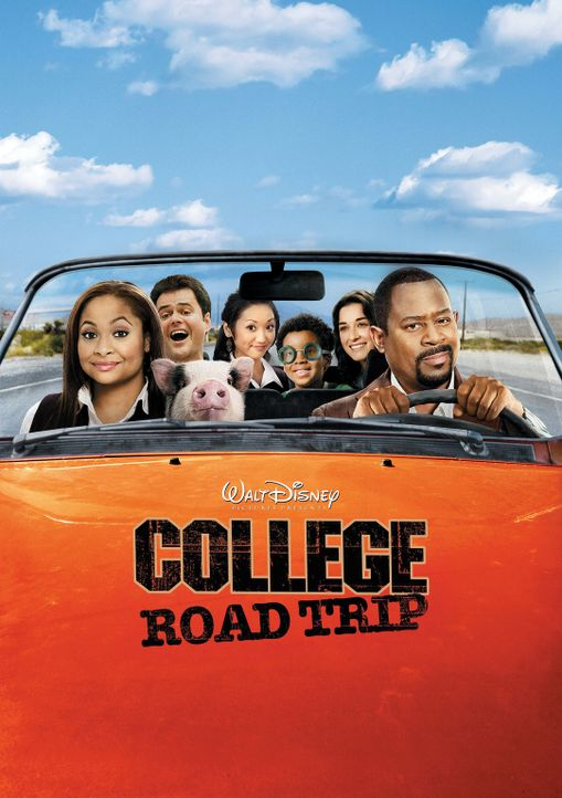 College Road Trip - Plakatmotiv - Bildquelle: Walt Disney Pictures.  All rights reserved