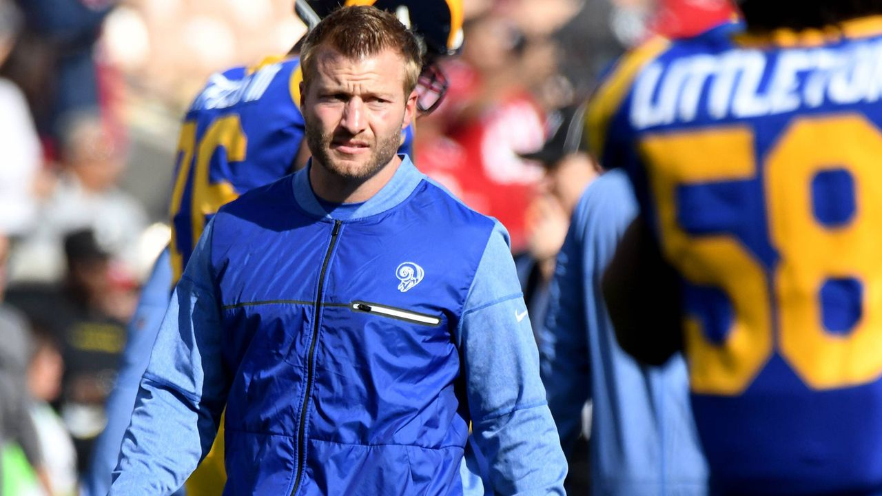 Sean McVay (Head Coach der Los Angeles Rams) - Bildquelle: imago/ZUMA Press