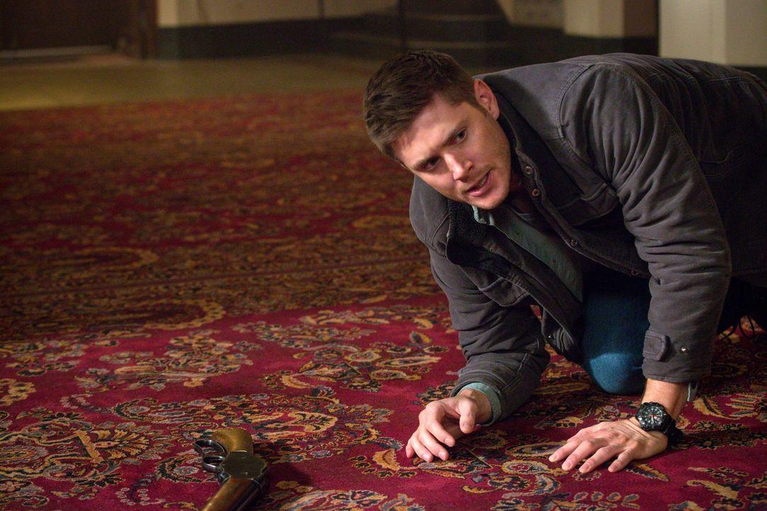 Dean (Jensen Ackles) gerät ins Fadenkreuz eines rachsüchtigen Geistes. Unterdessen erhält Rowena eine Information, die sie zu einem noch größeren Fe... - Bildquelle: 2016 Warner Brothers