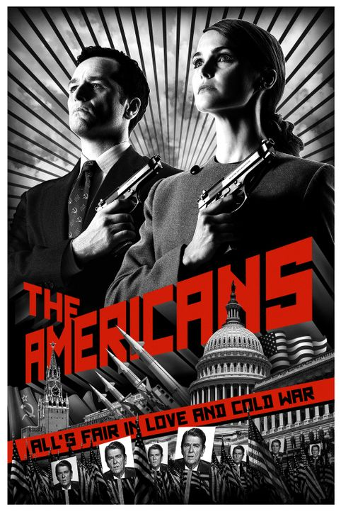 (1. Staffel) - The Americans - Plakatmotiv - Bildquelle: 2013 Twentieth Century Fox Film Corporation and Bluebush Productions, LLC. All rights reserved.