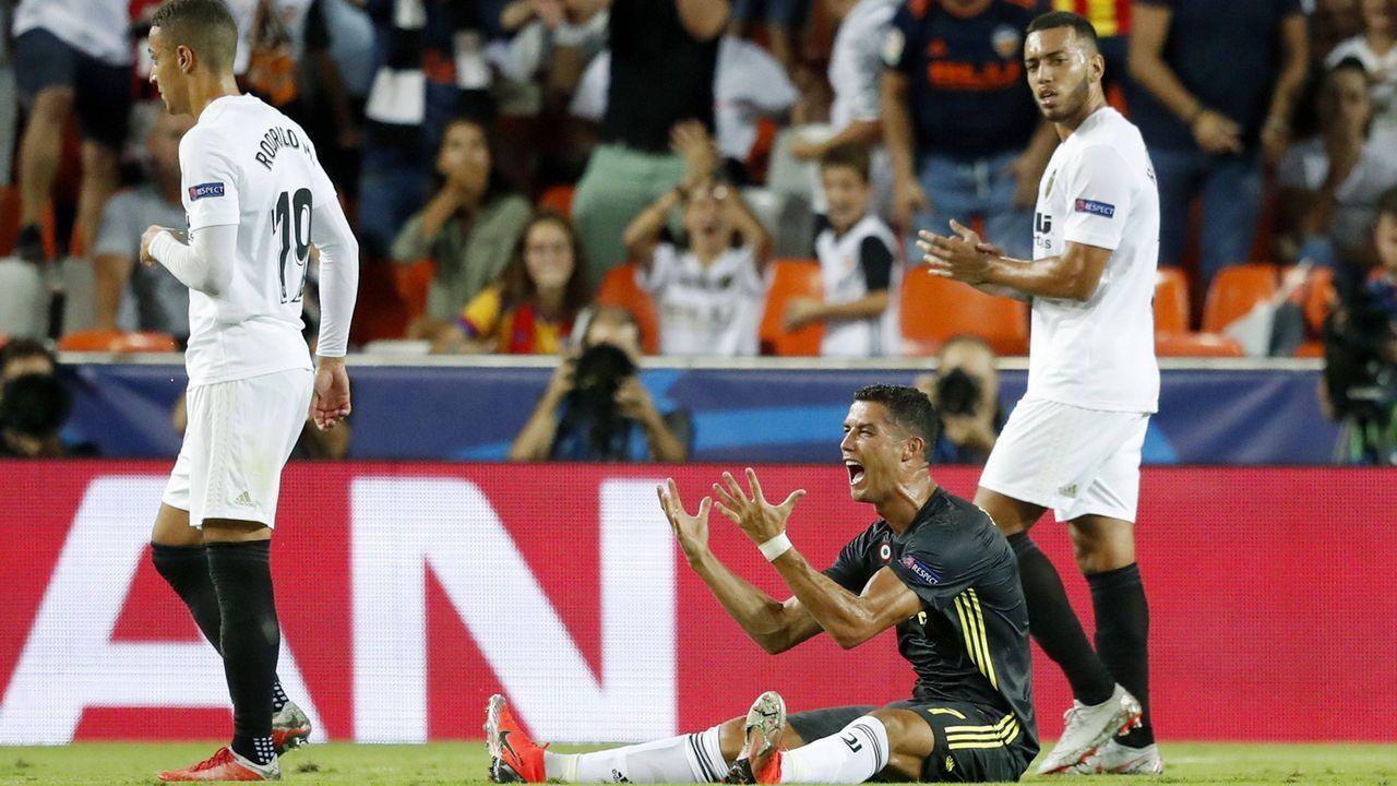 Cristiano Ronaldo sieht Rot - Bildquelle: imago/Pro Shots