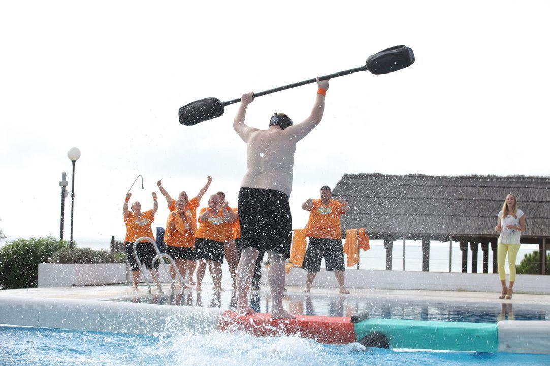 Ein Sieg für Team Orange ist errungen worden! - Bildquelle: Enrique Cano SAT.1