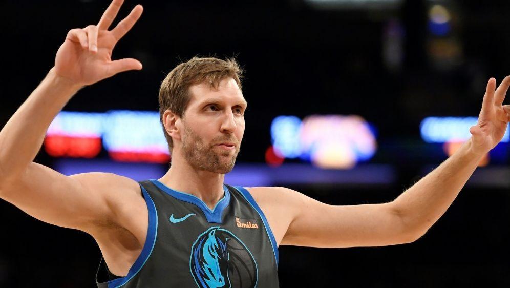 NBA: Nowitzki denkt über mögliches Karriereende nach - Bildquelle: AFPGETTY SIDArchivSarah Stier