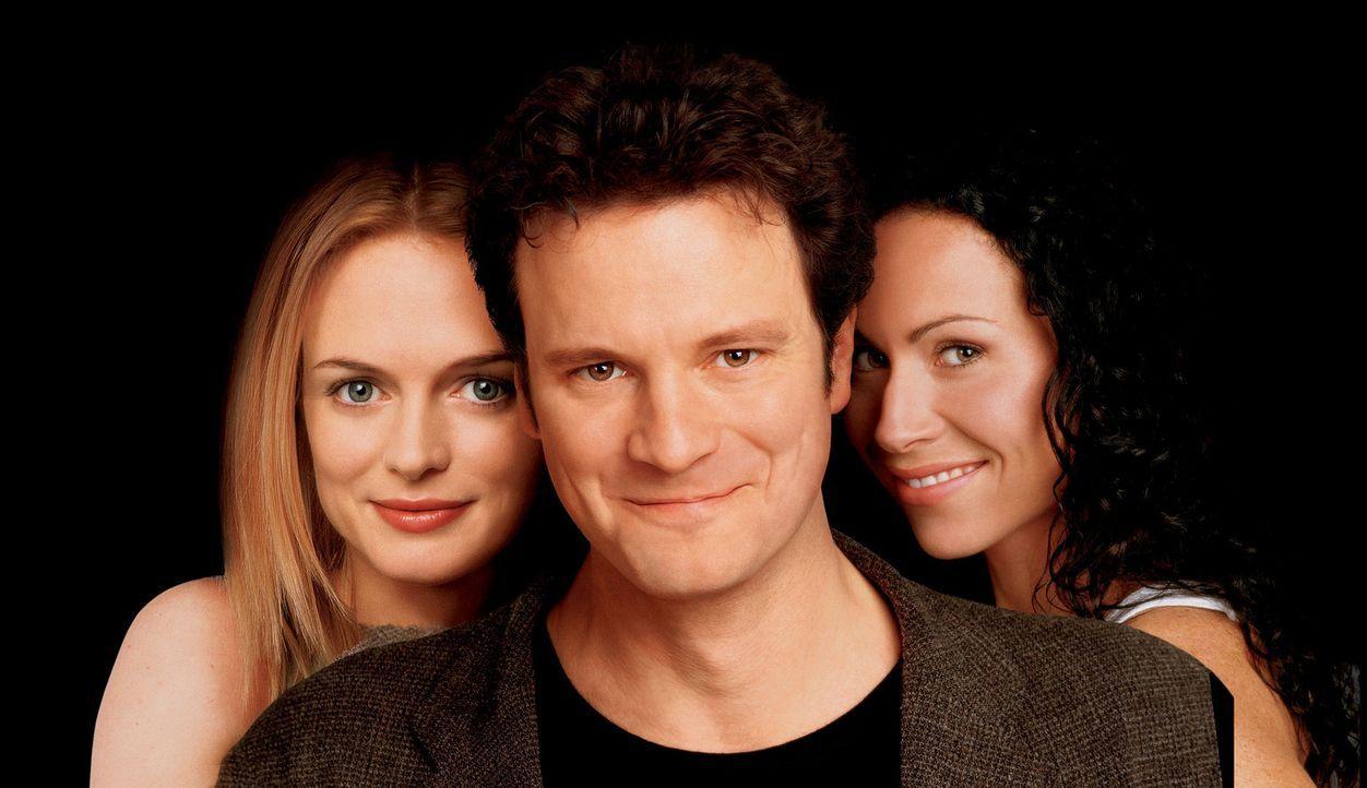 Als der britische Zeichner Colin (Colin Firth, M.) via Hochzeitseinladung erfährt, dass seine Verlobte Vera (Minnie Driver, r.) einen anderen Mann... - Bildquelle: Disney